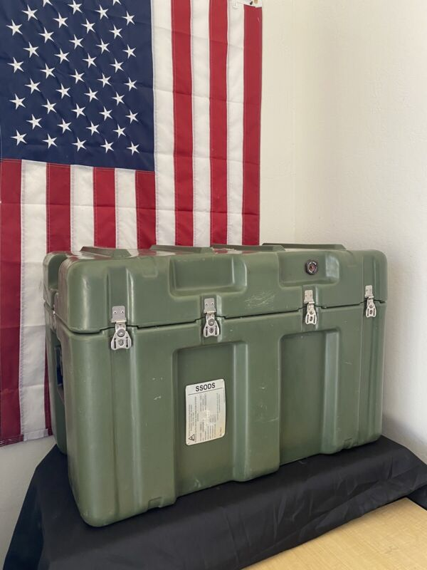 Pelican Hardigg Weather tight Military Medical Transport Case