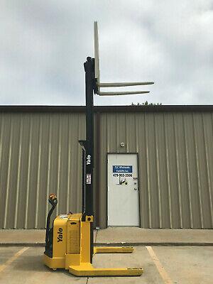2012 Yale Walkie Stacker - Walk Behind Forklift - Straddle Forklift - Only 4034