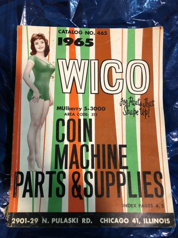 Wico 1965 Coin Machine Parts And Supplies Catalog