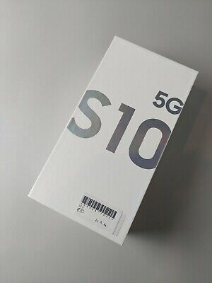 "SamSung Galaxy S10 5G SM-G977N 256GB - Crown Silver, Single Sim  ""Brand New!"""