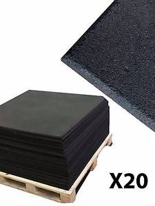 ARMORTECH RUBBER FLOORING 20 PACK Canning Vale Canning Area Preview