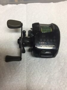 Team Diawa used baitcast fishing reel