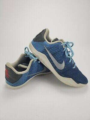 Nike Kobe Bryant 11 XI Brave Blue Avatar Sz 7Y Boys Basketball Shoes 822945-424