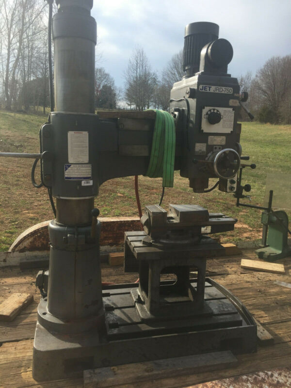 JET JRD-750 Radial Arm Drill