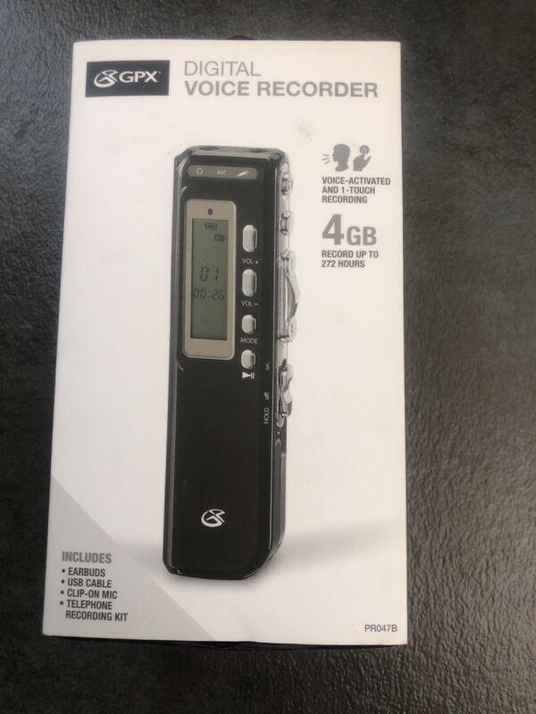 Gpx Digital Voice Recorder