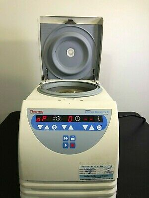 Thermo Sorvall Legend Micro 17r Refrigerated Centrifuge Rotor Lid 120v Warranty