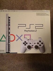 Extremely Rare Ceramic White PlayStation 2 Slim Console In Box