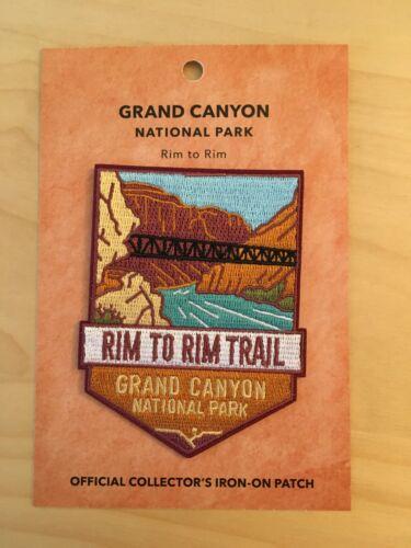 Official Grand Canyon National Park Souvenir Patch Rim to Rim Arizona