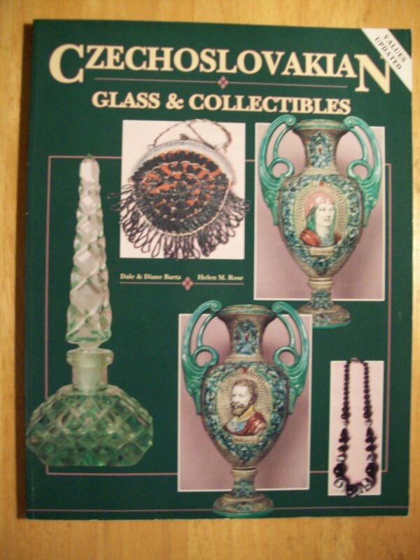 CZECHOSLOVAKIAN  Vol. 1 PRICE GUIDE COLLECTORS BOOK Glass plus more