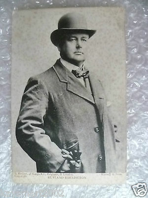 Postcard- MR. RUTLAND BARRINGTON