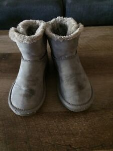 Grey boots from Old Navy. Size 13