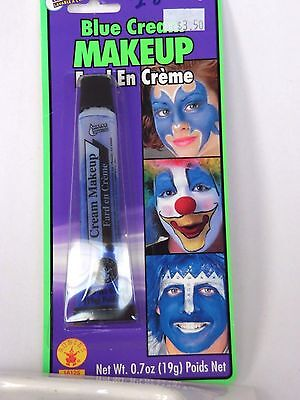 Blue Cream Costume Makeup Rubies Water Washable Halloween Party Stage Theater  - Halloween Blue Cream Makeup