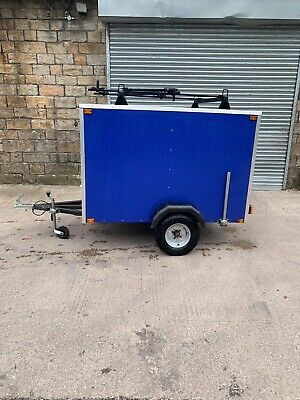 Box Trailer Ideal Camping C/w Bike Rack