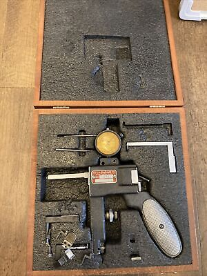 Starrett 1175 Groove Gage With Case And Tips Machinist Tool .0005 81-136-622