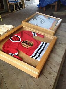 OAK CASES FOR HOCKEY SWEATERS London Ontario image 1