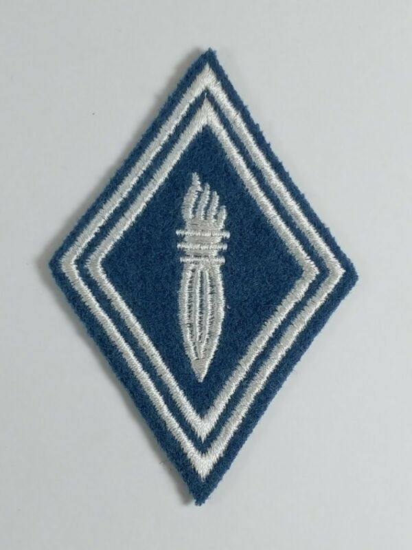 Blue and White Military Patch Française Obselet French Army badge Insignia