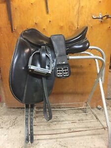 Bates Dressage Saddle