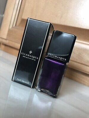 Illamasqua Nail Varnish Baptiste Purple Polish Box Vintage 0.5 oz
