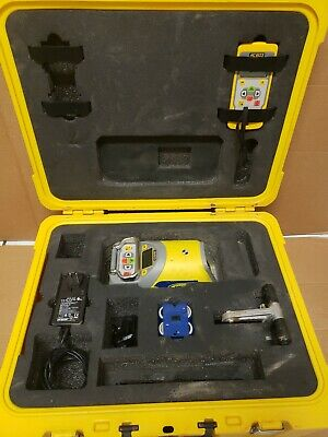 Spectra Precision Laser Dg613 Red Beam Pipe Level Kit W Case - Free Shipping