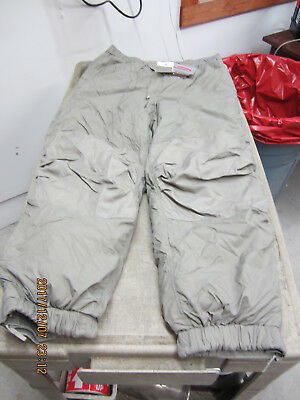GEN III LEVEL 7 ECWCS PRIMALOFT PANTS EXTRA LARGE LONG NWT XL
