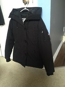 Women's Ecko red down filled winter jacket