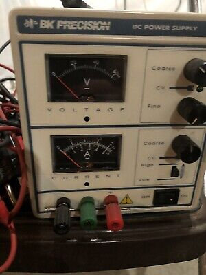 Bk Precision 1711 Dc Power Supply Model 120v 210w With Probe See Photos
