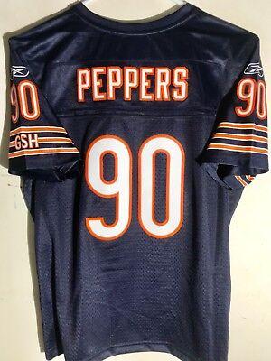Reebok Women's Premier NFL Jersey Chicago Bears Julius Peppers Navy sz L ()