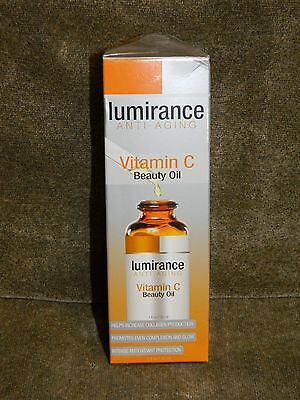 Lumirance Anti Aging Vitamin C Beauty Oil 1 oz / 30 ml  NEW