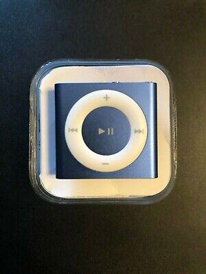 Apple iPod Shuffle A1373 Blue 2GB 4th Generation w/ original case 2015