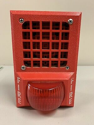 Vintage Fire Alarm Hornlight With Back Box.