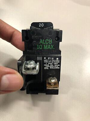 P120 Bulldog Ite 20 Amp 1 Pole Pushmatic Circuit Breaker 120240v Guaranteed