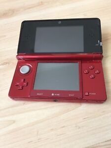 Nintendo 3DS red