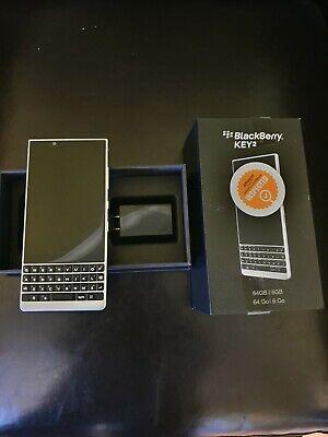BlackBerry Key2 BBF100-2 - 64GB - Silver (Unlocked)