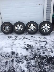 4-275/65-18 inch tires and wheels