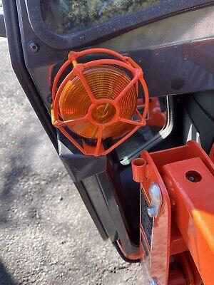 Kubota Tractor 4 Amber Wire Light Guard