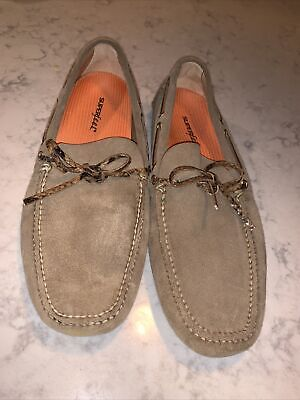 The Original Car Shoe - Size 8.5 Suede Leather Driving Shoes KUD 006 8.5