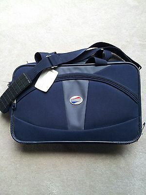 American Tourister Blue Nylon Travel Lightweight Carry On Bag VERY USEFUL GREAT American Tourister Lightweight Suitcase