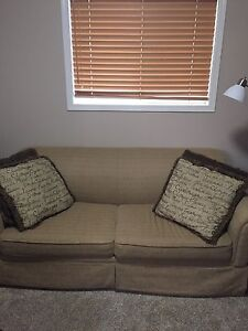 Couch with hide a bed