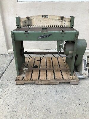 Di-acro Power Shear No 36 Electric 36 16ga 16 Gauge Sheet Metal