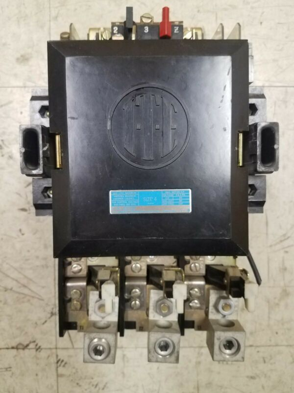 ITE A203F MOTOR STARTER SIZE 4 150A 600V 120V COIL T60 HEATERS