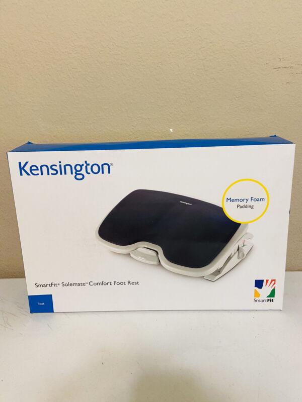 KENSINGTON K56144USF Footrest, Memory Foam, Gray