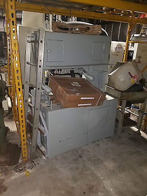 36 Grob Vertical Band Saw Ns-36 Wblade Welder Power Feed Contouring Table