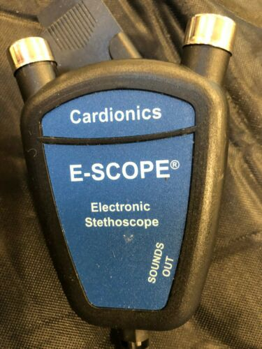 Cardionics E-Scope Amplified Electronic Stethoscope