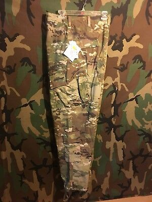 SCORPION W2 MULTI CAM CAMOUFLAGE , OCP SIZE SM LONG PANTS U.S. ISSUE *NEW*