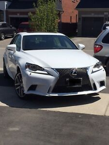2015 Lexus IS 250 fsport AWD fully loaded