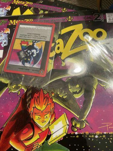 MetaZoo: Cryptid Nation Novel Comic Chapter #2 2nd Print Holo Promo Card Sealed