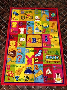 Baby Alphabets Play Mat Children Rug Non-Slip Mount Pleasant Melville Area Preview