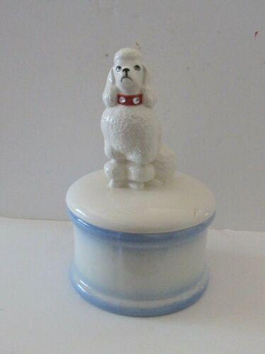 Ceramic Poodle Cookie Jar