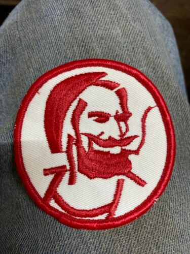 Vintage Early 1970's Zig-Zag Smoking papers Man Cloth Patch Hippie