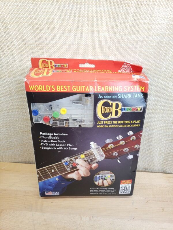 CHORD BUDDY Guitar Learning System Teaching Practrice Aid ChordBuddy Book Lesson